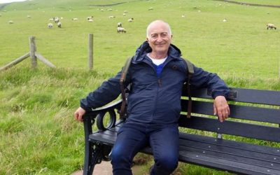 "Five minutes with Tony Robinson: ""In some languages the word for thinking and walking is the same"""