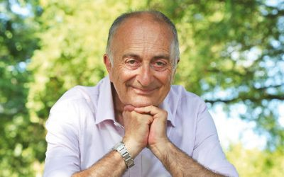 Blackadder star Tony Robinson on his cross-country walking documentary